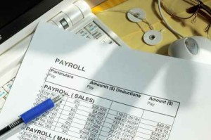 Payroll spreadsheet
